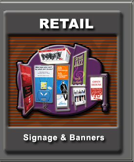 Retail Signage and Banners