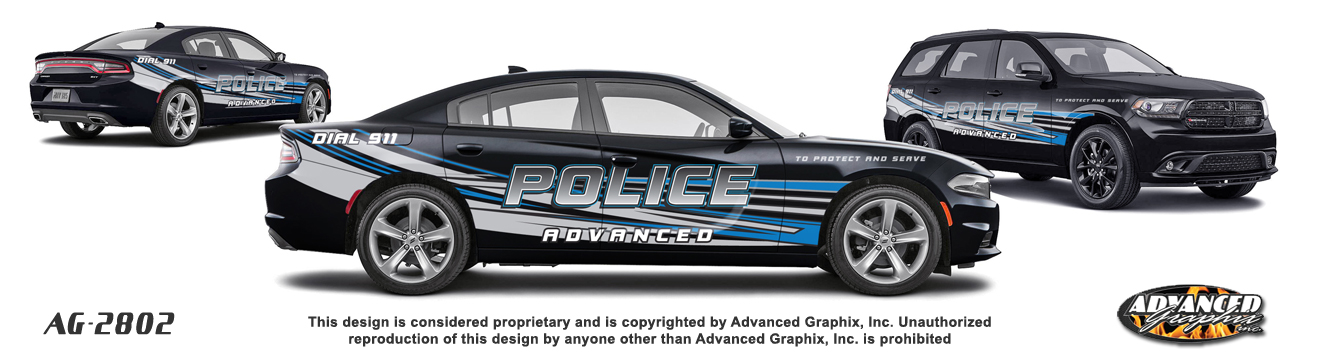 Advanced Graphix Home Page Vehicle Graphics Police